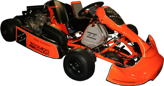 Kart Chassis orange